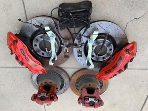 Mercedes Benz W463 G63 Amg Brembo Brake Calipers 6 Piston