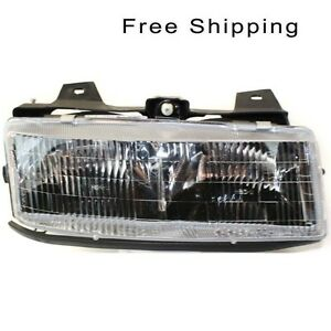 Halogen Head Lamp Assembly Passenger Side Fits 89 96 Chevrolet Corsica Gm2503111