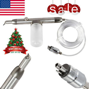 Dental Air Polisher Abrasion Microetcher Ii Type Sandblasting Sandblaster