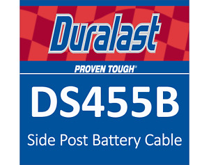 Duralast Ds465b Side Post Battery Cable