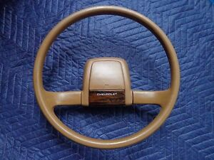 Gm Chevy Beretta Tan Steering Wheel 2 Spoke Oem 88 89 70 S 80 S 90 S Woodgrain