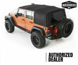 07 18 Jeep Wrangler Jk Unlimited Replacement Tinted Windows Soft Top Special Buy