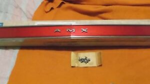 1968 1969 Amc Amx Rear Tail Light Reflector Nos In Factory Box