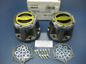 Warn 60459 4wd Premium Manual Locking Lockout Hubs Toyota Tacoma 95 01 Front