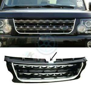 For Land Rover Discovery Lr4 14 16 Abs Black Main Body Front Grille Replace Trim