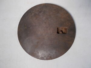 Antique Cast Iron Wood Stove Cover Lid Marked Household Ww Co On Back