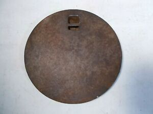 Antique Cast Iron Wood Stove Cover Lid Marked 8 1 On Back