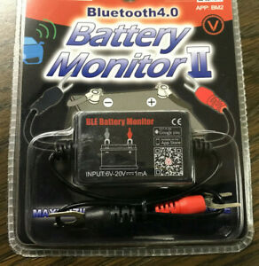 Battery Monitor Ii Bluetooth 4 0 Ios Andriod Battery Tester Usa Shipping