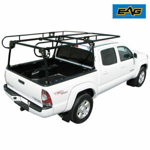 Adjustable Compact Truck Contractors Rack Truck For Long short Bed