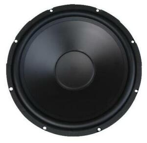 Mcm Audio Select 200w Rms 4 Ohm Rubber Surround Woofer Poly Cone 15 Inch Mcm