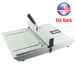 Usa Manual Paper Creaser Creasing Machine 350mm A4 Card Covers High Gloss Covers