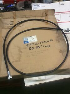 Nos 1960 1962 Ford F100 700 Truck Speedometer Cable