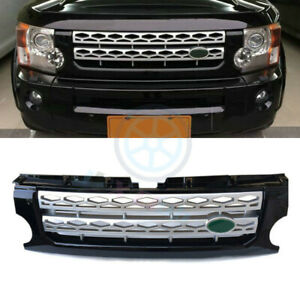For Land Rover Lr3 Discovery 2005 09 Silver New Front Grill Grille Cover Trim K