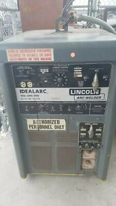 Lincoln Idealarc Tig 300 300 Arc Welder