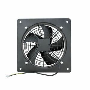 Commercial Industrial Extractor Ventilation Axial Exhaust Blower Plate Fan 400mm