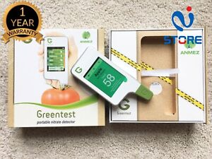 Greentest Nitrate Food Tester Test Fruit Vegetables Meat Portable Touch Screen