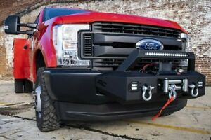 Rough Country Exo Winch Mount System For 17 19 Ford F250 F350