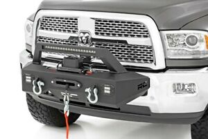 Rough Country Exo Winch Mount System For 14 18 Dodage Ram 2500