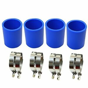 4 X 2 5 63mm Straight Silicone Hose Coupler Intercooler Pipe 3 Long