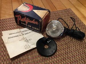 Nib Back up Tail Light Pathfinder 491 Vintage Auto Truck Hot Rat Rod is 459