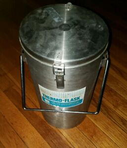 Used By Nasa Liquid Nitrogen Container Dewar Glass Vacuum Flask Lab line Thermo