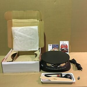 Tibos Cebpb2 13 Round Electric Single Crepe Maker 110 volts 1300 Watts