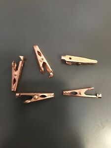 Copper Mini Alligator Clips For Soldering 5a 98 Pack