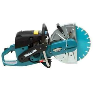 Makita 73cc 14 Inch Gas Saw Power Cutter 14 In Diamond Blade Universal Wrench