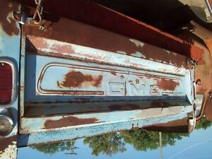 Vintage 1966 Gmc Fleetside Tailgate