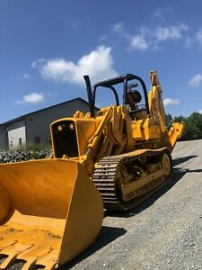 John Deere 450c Crawler Loader With Backhoe