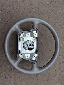 Oem Porsche 911 996 993 986 Boxter Steering Wheel Gray Grey Leather