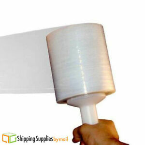 Stretch Shrink Film Banding Wrap Clear 5 X 1500 X 45 Gauge 96 Rls