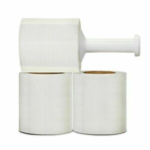 Stretch Film Banding Wrap Clear 5 X 1000 X 50 Ga 60 Rls Plastic Handle