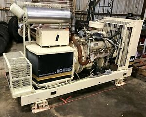 Kohler 60kw Fast Response Ii Propane And Natural Gas Ford V8 Generator 555 Hrs