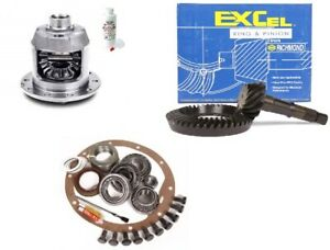 86 09 Ford F150 8 8 4 56 Ring And Pinion Aam 31 Spline Posi Lsd Excel Gear Pkg