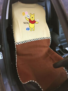 Winnie The Pooh Disney Car Truck Suv Van Accessory 1 Piece Car Seat Cover pt