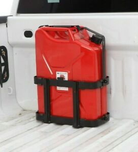 Gas Rack Fuel Gasoline Military Jerry Can Holder Mount Metal 20 Liter 5 Gallon