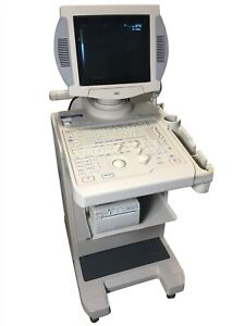 Aloka Ssd 1400 Usi 144 Medical Diagnostic Vascular Ultrasound W Sony Printer