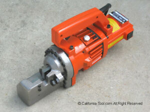Portable Electric Hydraulic 3 4 6 Rebar Cutter Rc 196c New
