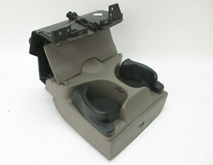 Dodge Ram 1500 2500 Truck Pickup In Dash Dual Drink Cup Holder Taupe Tan 02 05
