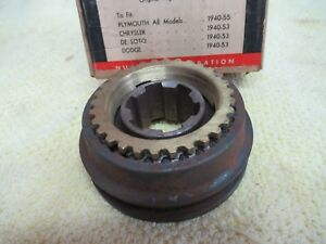 Nos 40 55 Mopar 3 Speed Transmission Synchro Assembly W Rings