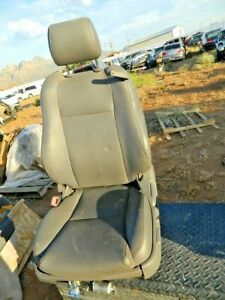 2007 2008 Toyota Solara Convertible Front Left Driver Power Seat Gray Leather