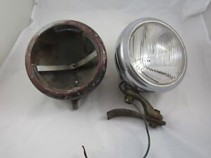 Vintage Pair Of 1930 s 1940 s Car Or Truck Yankee Clipper Fog driving Lights