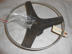 1968 Dodge Coronet 440 4 Door Center Steering Wheel Original Part