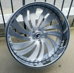 24 Forgiato Canale Dodge Hell Cat Charger And Challenger Srt 5x115