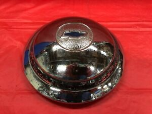 Vintage 1934 36 Chevrolet Hubcap Very Good Condition Solid