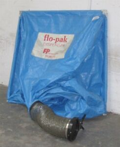 Flo pak Dispenser Of Packing Shipping Peanuts 18 Cu Ft