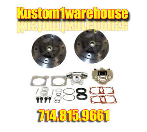 Rear Disc Brake Conversion Kit For 68 79 5 Lug Vw Volkswagen Without Emergency