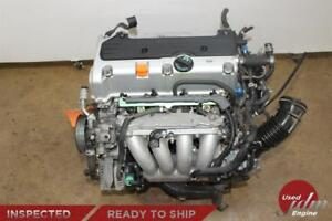 Jdm 03 07 Honda Accord K24a Dohc Vtec Engine 2 4l 4 Cylinder Motor Low Mileage