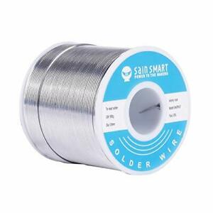 Sainsmart 0 8mm Solder Wire 63 37 Tin lead Sn63pb37 With Flux Rosin Core For Ele